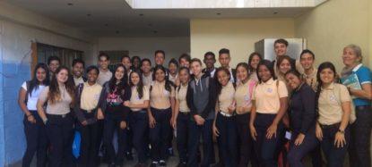 Estudiantes Becados por la Fundacion Gorrin